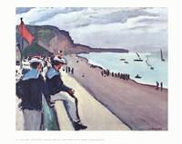 Beach of Fecamp Fine Art Print