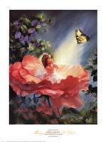 Golden Butterfly Fine Art Print