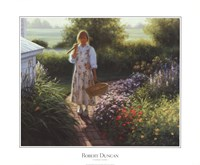 Grandma's Garden Fine Art Print