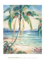 Tropical Breeze II Framed Print