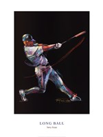 Long Ball Fine Art Print
