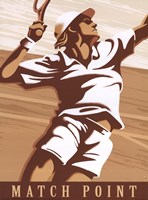 Match Point Fine Art Print