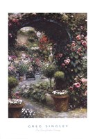 The Town Garden Nursery Fine Art Print