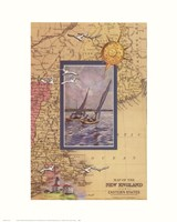 Atlantic Sailing Fine Art Print