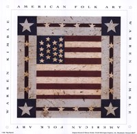 Flag Square Fine Art Print