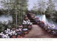 Bridge of Flowers Fine Art Print