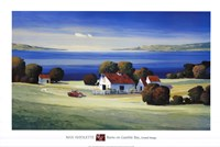 Barns on Gamble Bay Fine Art Print