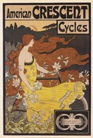 American Crescent Cycles Fine Art Print