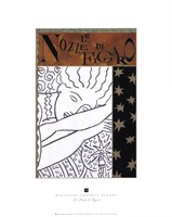 Le Nozze di Figaro Framed Print