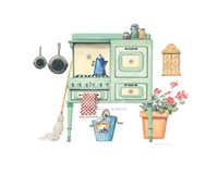 Cookin' with Gas Fine Art Print