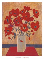 Scarlet Poppies Fine Art Print
