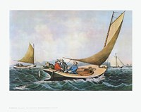 Trolling for Bluefish Fine Art Print