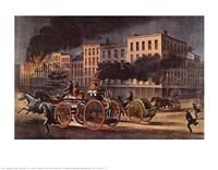Life of a Fireman Fine Art Print
