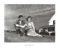 Jack and Jackie, 1953 Fine Art Print