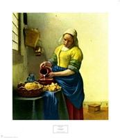 The Milkmaid Fine Art Print