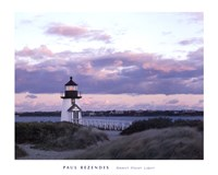 Brant Point Light Framed Print
