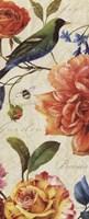 Rainbow Garden VI - Cream Framed Print