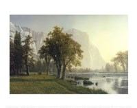 El Capitan, Yosemite Valley, California, 1875 Fine Art Print