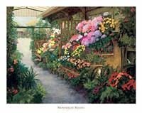 Spring Flower Market Fine Art Print