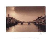 Ponti Santa Trinita, Florence Fine Art Print