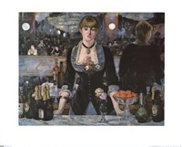 Bar At the Folies-Bergere Fine Art Print