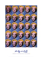 Twenty-Five Colored Marilyns, 1962 Fine Art Print
