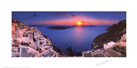 Sunset in the Mediterranean Fine Art Print