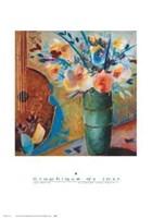 Flowers and Fruits II Fine Art Print