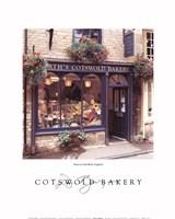 Cotswold Bakery Fine Art Print