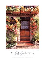 Flower Cottage Fine Art Print