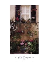 Valbonne Window Fine Art Print