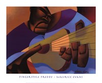 Fingerstyle Freddy Fine Art Print