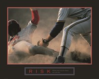 Risk-Baseball Fine Art Print