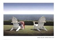 Spring House View Fine Art Print