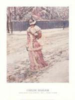 Lady in Pink Fine Art Print