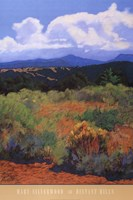 Distant Hills Fine Art Print