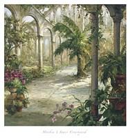 Inner Courtyard Fine Art Print
