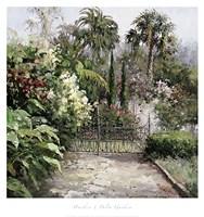 Palm Garden Fine Art Print