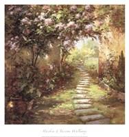 Tuscan Walkway Fine Art Print