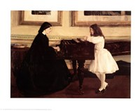 At the Piano Fine Art Print