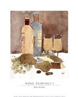 Wine Pairings I Fine Art Print