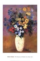 Vase of Flowers, 1914 Fine Art Print