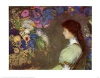 Mlle Violette Fine Art Print