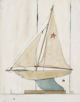 Pond Yacht II Fine Art Print