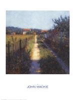 Walk Into Spring Sanary Fine Art Print