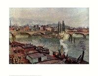 Stone Bridge, Rouen Fine Art Print