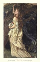 Ophelia, ca. 1865 Framed Print