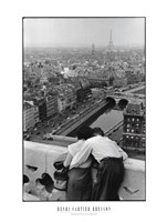 Bresson - View from the Towers of Notre Dame Framed Print