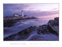 Lighthouse at Dawn Fine Art Print