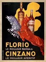 Florio E Cinzano Framed Print